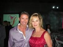 With Jessica Lange.