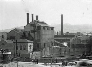 SWEHS_5.2.004.jpg - Date 1928 - Dorchester Street Generating Station, Churchill Bridge. Commenced supply 1890.