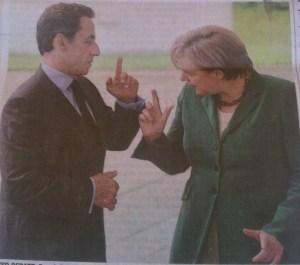 Sarkozy & Merkel Wall Street Journal 21. Juli 2011