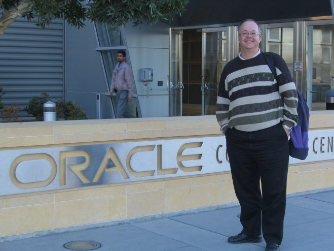 Christian Haack in San Francisco Oracle HQ