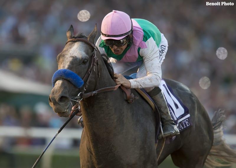 Arrogate Earns Horse Of The Meet Honors At Santa Anita