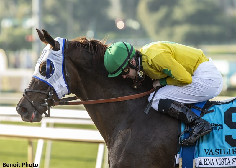 Prat S Buena Vista Victory Earns Him Jockey Of The Week