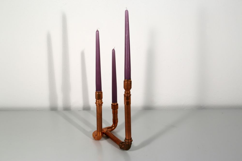 Dreiarmiger Leuchter II