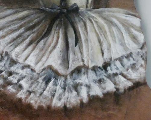 detail ballet dancer