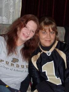 Pauline & Sandi '08