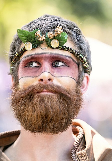 """""""You came through that Wormhole? I'm impressed. Think you're crazy, but impressed."""" One of the Fae Folk from the 2016 Texas Renaissance Festival in Todd Mission, Texas Copyright by WyoJones. All rights reserved. Used with permission."""
