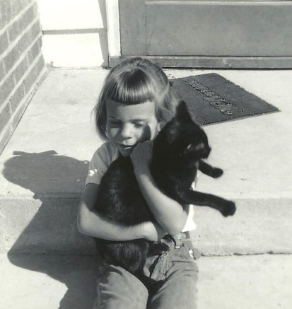 me with a cat