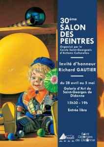 Salon des peintres Saint Georges de Didonne - avril mai 2019