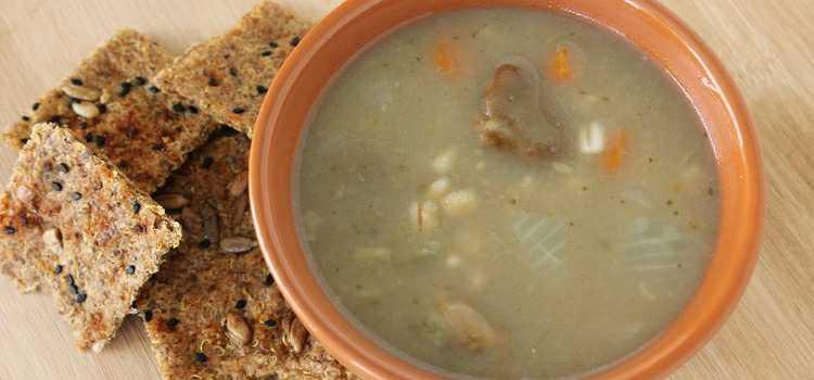 Soupe aux Gourganes
