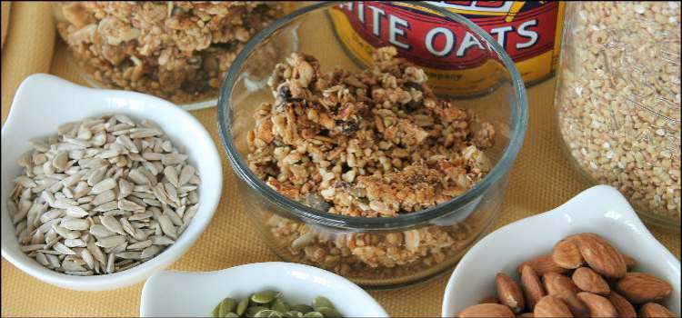 Buckwheat Oat Granola
