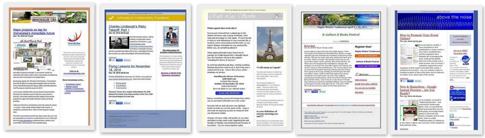 Mailchimp Newsletter Custom Templates Pauli Systems Pauli Systems Lc