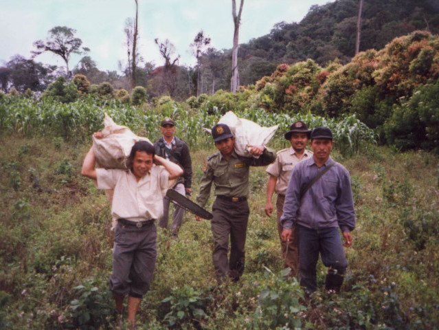 Work on the Sumatran Frontier