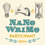 Nanowrimo. 5-day update number 6
