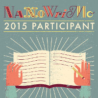 Nanowrimo 2015, day 1.