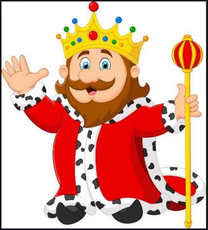 King Walt Cartoon