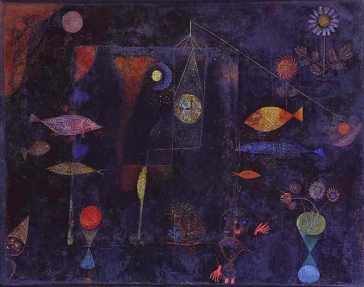 Fish Magic, 1925 by Paul Klee