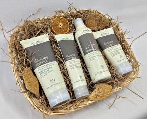 aveda damage remedy gift set