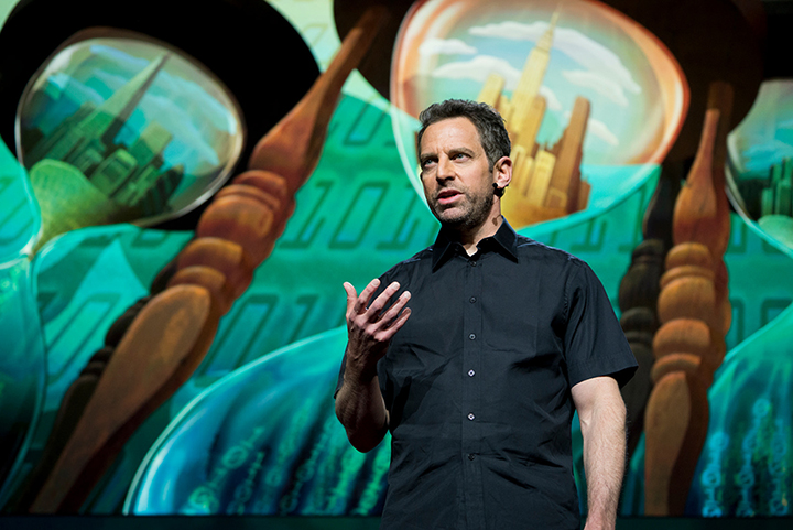 Image result for sam harris ted talk