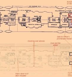 titanic boat diagram [ 1240 x 700 Pixel ]