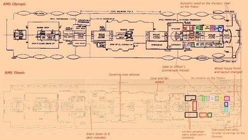 small resolution of titanic boat diagram