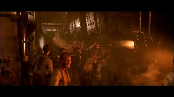 Image result for titanic movie boiler room