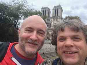 Tim and Paul at Notre Dame