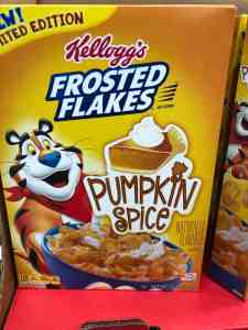 Box of Pumpkin Spice Frosted Flakes