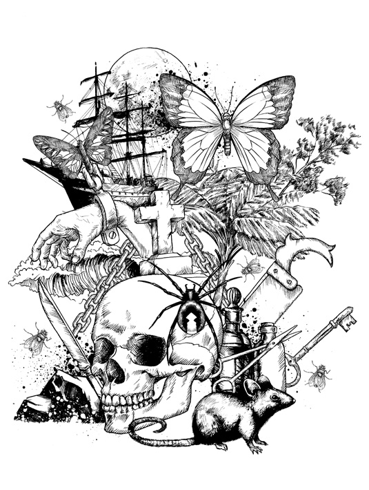 Paul Loudon / Lantern Jaw / Mr. Illustrator: The Doomed