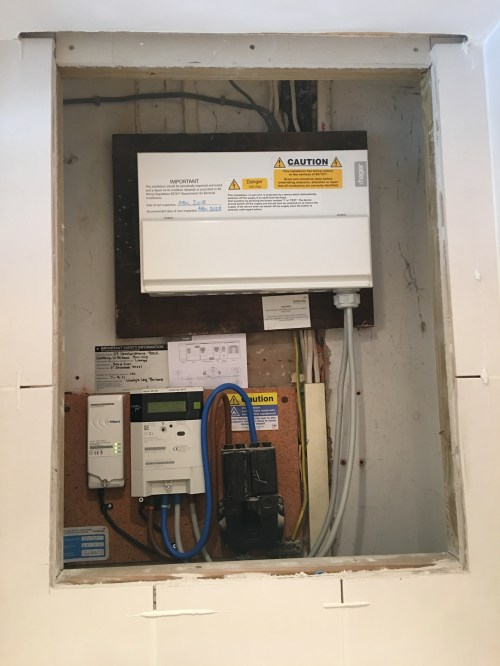 small resolution of case study installation of kitchen under lights bathroom spot electrical fuse box in bathroom fuse box in bathroom