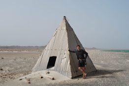 Pyramid on the beach
