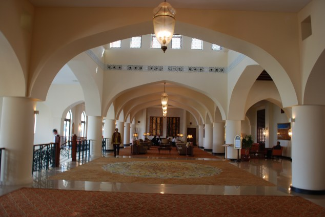 Lobby of the Shangri La, Muscat
