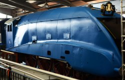 A Flying Scotsman being restored