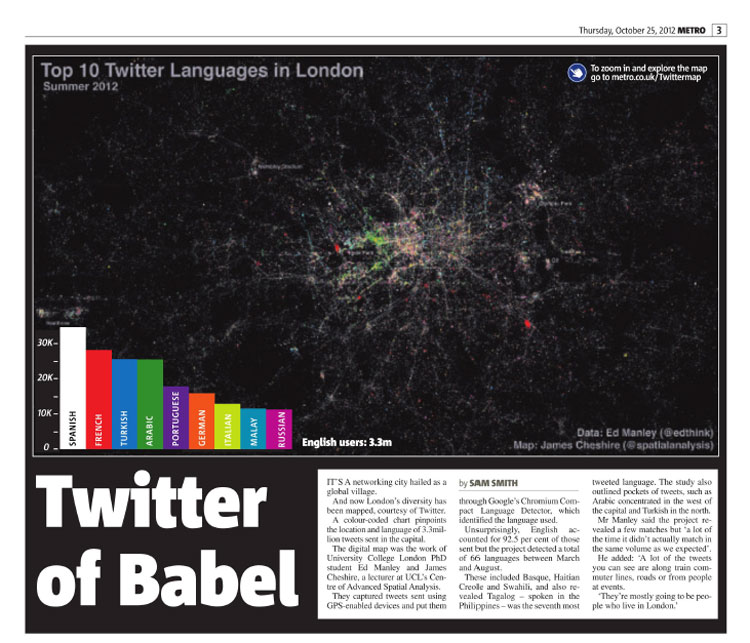 Twitter of Babel