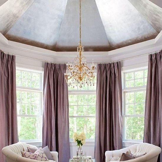 Metal purple room