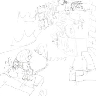 """Sketch by Yu """"Fiona"""" Jiayue"""