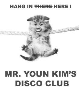 "Youn Kim as ""Hang in there"" kitty"