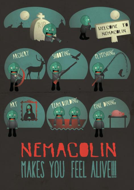 Nemacolin Travel Brochure aimed at Zombies