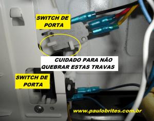 Localização dos switches