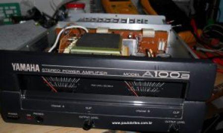 Amplificador Yamaha A100a