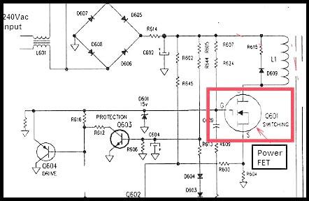 Fig. 14 - Transistor chaveador