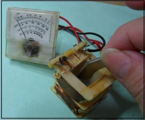 Fig. 13- Experiência de Faraday