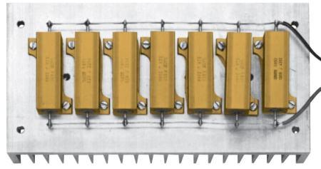 Carga resistiva para teste de amplificadores