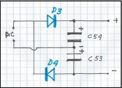 Fig.3 - Relembrando o dobrador de tensão