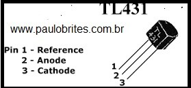 Fig.5 - Encapsulamento TO-92 para o 431