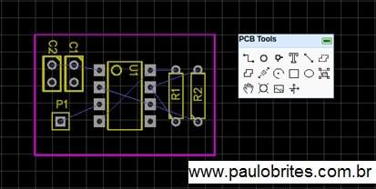 Fig. 23 – Janela PCB Tools