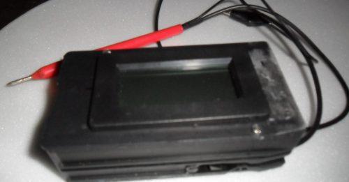 Fig.4 - Montagem final da ponta de moduladora com voltímetro