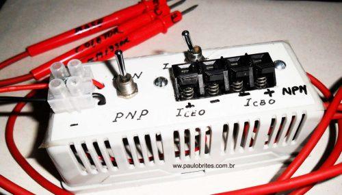FIG.8 - Medidor de corrente de fuga montado