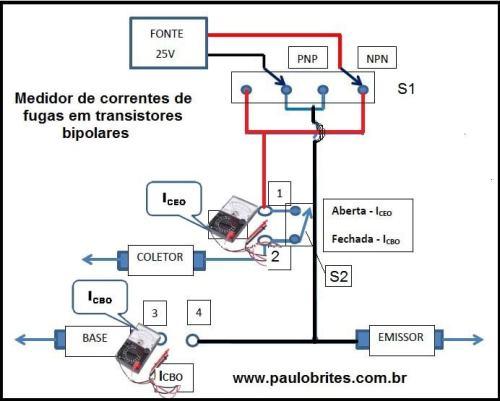 Fig7 ´- Medidor de corrente de fuga em transistores