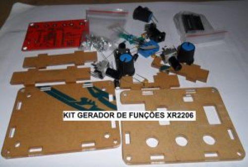 Kit do Gerador de funções com XR2206