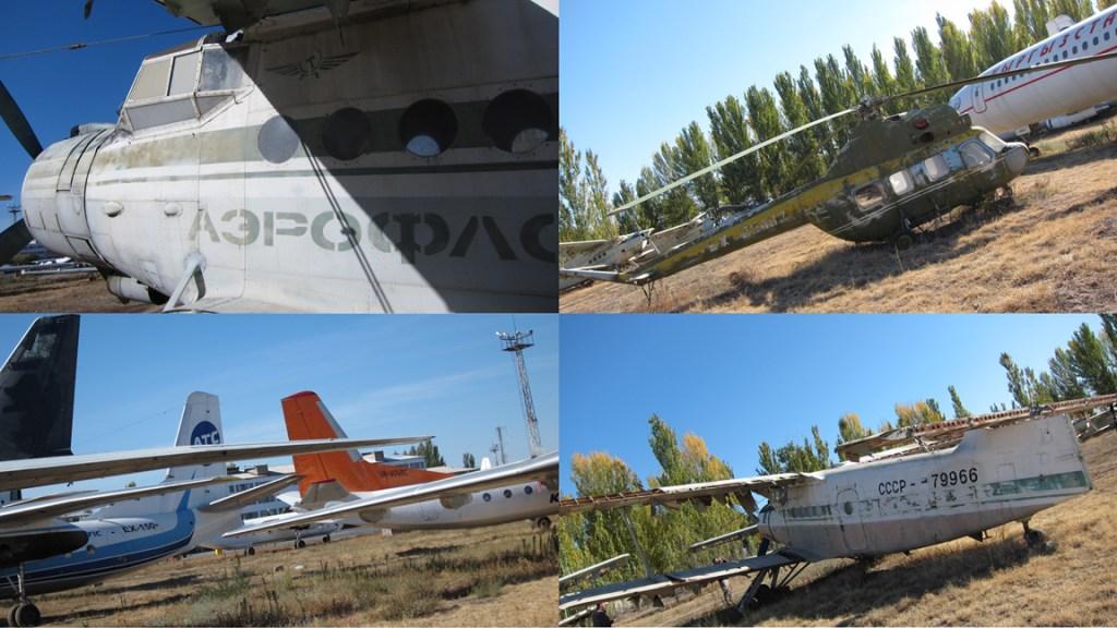 Airplane Boneyard, Kyrgyzstan